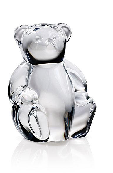 Steuben Teddy Bear Hand Cooler