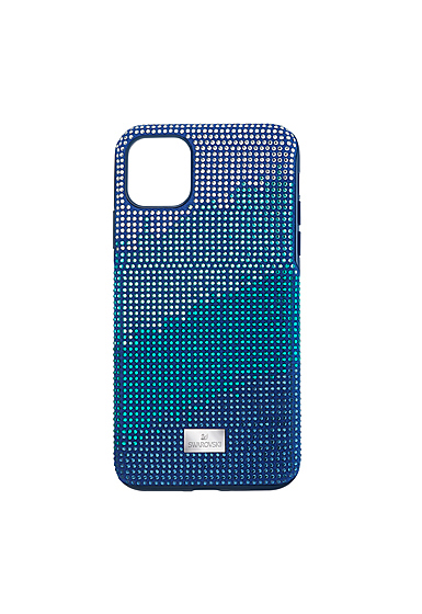 Swarovski Mobile Phone Case Crystalgram iPhone 11 Pro Max Case Blue Anniversary
