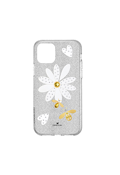 Swarovski Mobile Phone Case Eternal Flower iPhone 11 Pro Case Multi