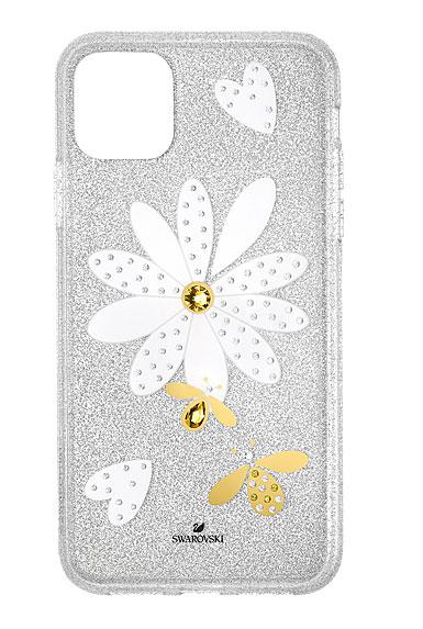 Swarovski Mobile Phone Case Eternal Flower iPhone 11 Pro Max Case Multi