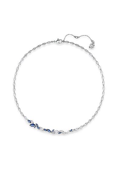 Swarovski Necklace Louison All-Around Crystal Rhodium Silver Anni