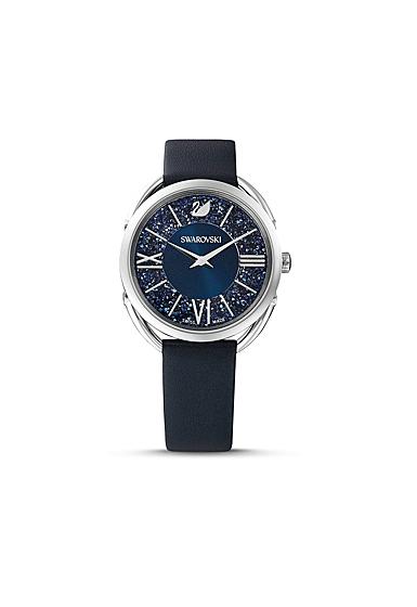 Swarovski Women's Watch Crystalline Glam Blue Stainless Steel Shiny 125Y