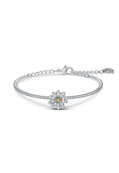 Swarovski Bracelet Eternal Flower Bangle Yellow Crystal Mix M