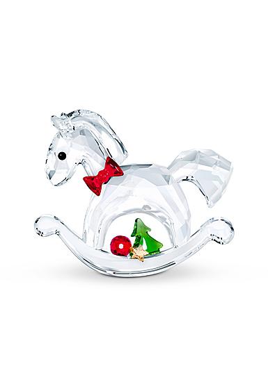 Swarovski Rocking Horse Happy Holidays