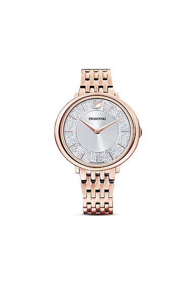 Swarovski Cristalline Chic Watch, Metal Bracelet, Rose Gold Tone, Rose Gold Tone