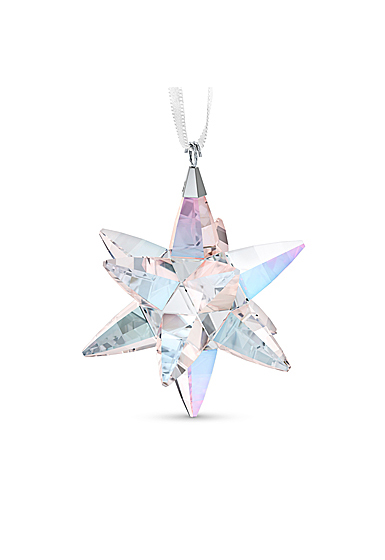 Swarovski Star Ornament, Shimmer, Medium