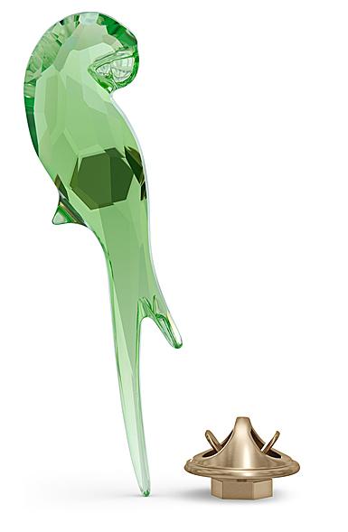 Swarovski Jungle Beats Magnet Parrot Green Small