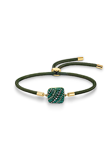 Swarovski Power Collection Earth Element Bracelet, Green, Gold Tone Plated