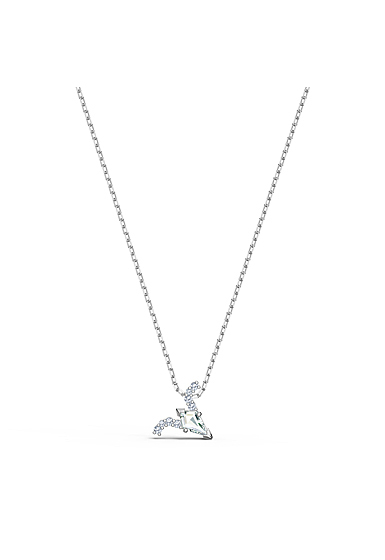 Swarovski Zodiac Pendant Necklace, Aries, White, Mixed Metal Finish