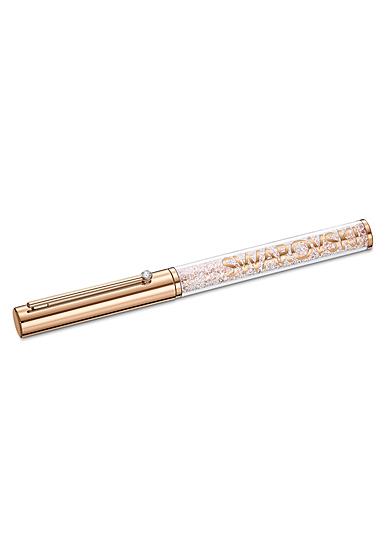 Swarovski Crystalline Gloss Ballpoint Pen, Rose Gold Tone Plated