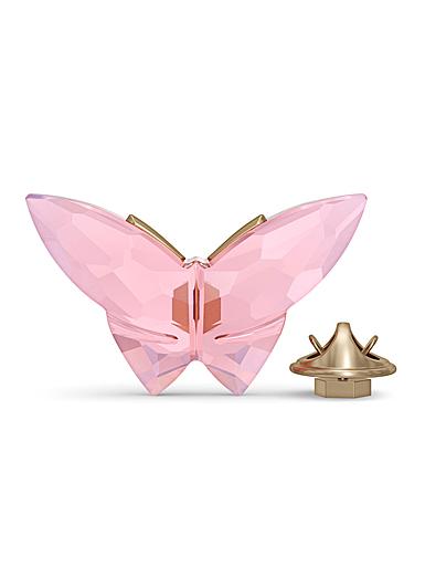 Swarovski Jungle Beats Magnet Butterfly Pink Large