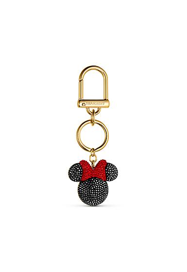 Swarovski Disney Bag Charm Black and Gold Minnie