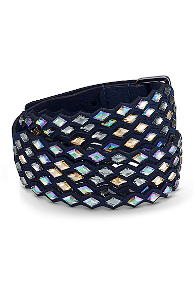 Swarovski Power Collection Navy Bracelet, Blue