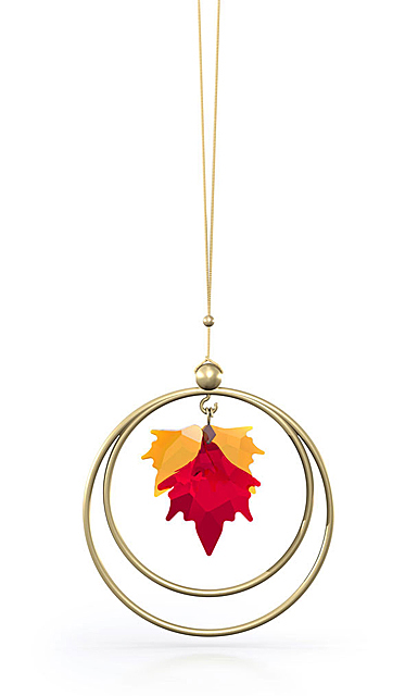 Swarovski Garden Tales Ornament Autumn Leaves
