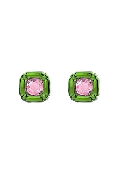 Swarovski Dulcis Stud Earrings, Green, Pair