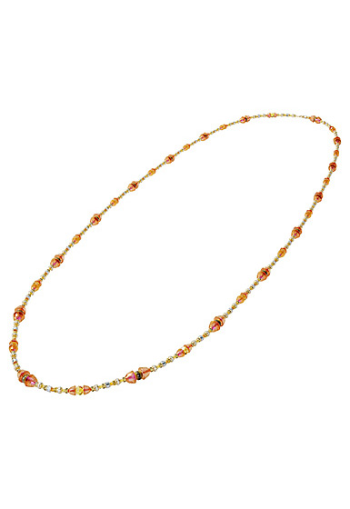 Swarovski Somnia Necklace, Extra Long, Brown, Gold-Tone Plated