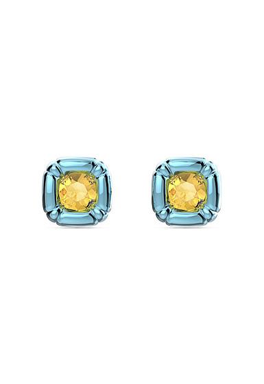 Swarovski Dulcis Stud Earrings, Blue, Pair