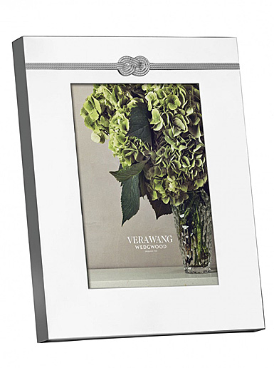 """Vera Wang Wedgwood Infinity 5x7"""" Picture Frame"""