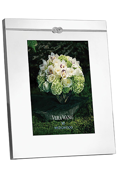 """Vera Wang Wedgwood Infinity 8x10"""" Picture Frame"""