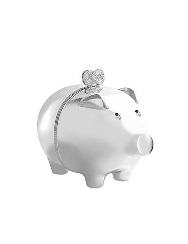Vera Wang Wedgwood Infinity Piggy Bank