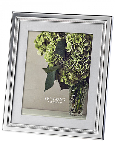 """Vera Wang Wedgwood Chime With Grosgrain Matte 8 x 10"""" Picture Frame"""