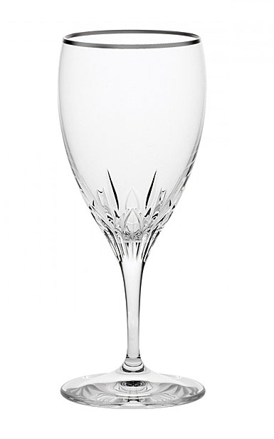 Wedgwood Knightsbridge Platinum Stemware Crystal Iced Beverage, Single