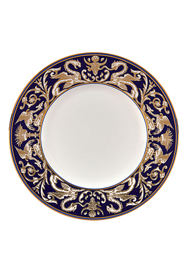 """Wedgwood Renaissance Gold Accent Salad Plate 9"""" Scroll, Single"""
