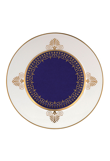 """Wedgwood Anthemion Blue Bread and Butter Plate 6"""""""