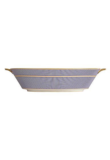 Wedgwood Anthemion Blue Open Vegetable Bowl