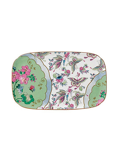 Wedgwood China Butterfly Bloom Sandwich Tray