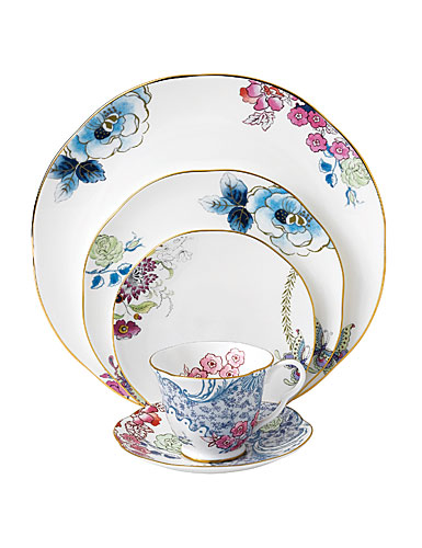 Wedgwood China Butterfly Bloom, 5 Piece Place Setting