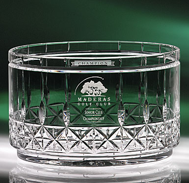Crystal Blanc, Personalize! Concerto Crystal Bowl, Medium