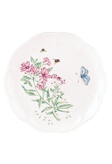 Lenox Butterfly Meadow Dinnerware Tiger Accent Plate
