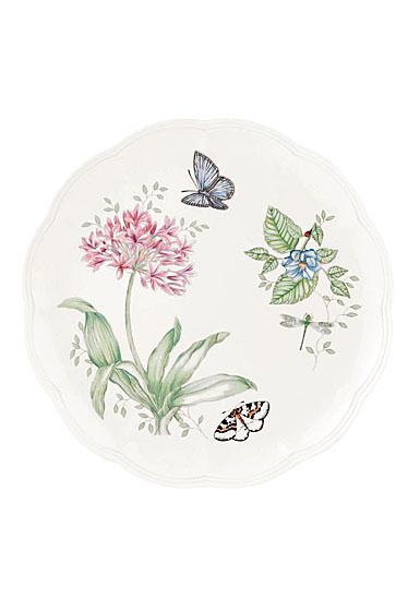 Lenox Butterfly Meadow Dinnerware Blue Butterlfy Dinner Plate, Single