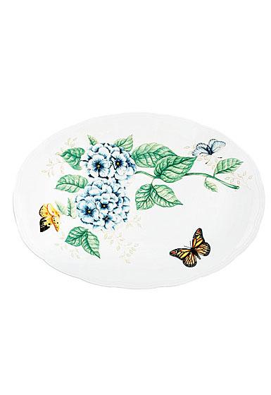 """Lenox Butterfly Meadow Dinnerware Platter 16"""""""