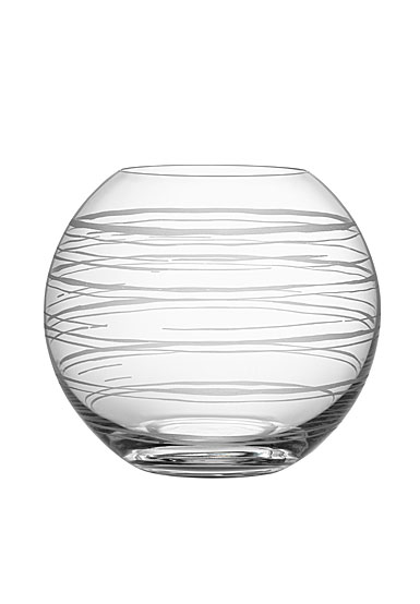 Orrefors Crystal Graphic Vase Small