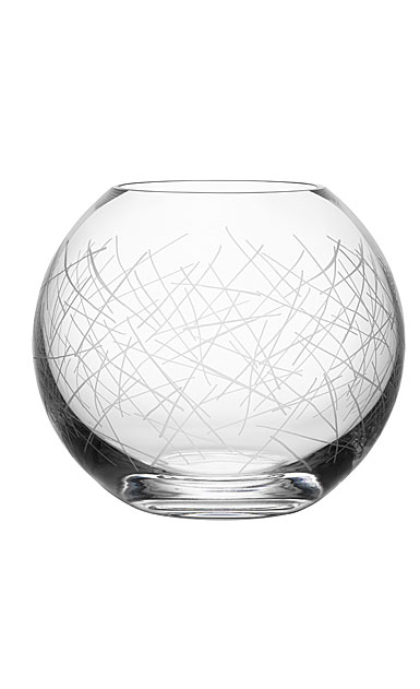 Orrefors Crystal Confusion Vase Bowl Small