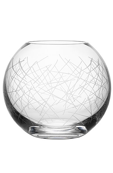 Orrefors Crystal Confusion Vase Bowl Medium