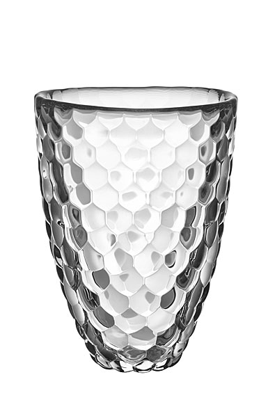 Orrefors Crystal Raspberry Vase Small