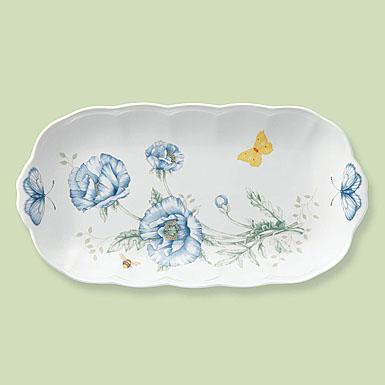 Lenox Butterfly Meadow Dinnerware Oblong Tray