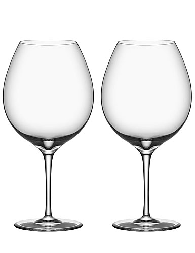 Orrefors Premier Pinot Noir Pair