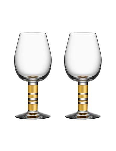 Orrefors Crystal, Morberg Exclusive Crystal Red Wine, Pair