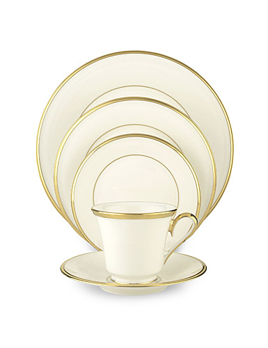 Lenox China Dimension II Eternal White, 5 Piece Place Setting