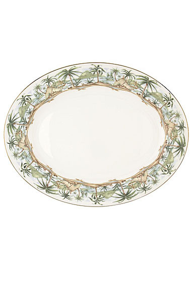 Lenox British Colonial Dinnerware Oval Platter 16""