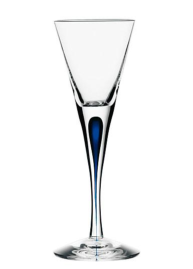 Orrefors Crystal, Intermezzo Blue Snaps, Single
