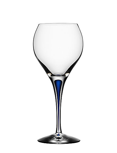 Orrefors Intermezzo Blue Sweet Wine Glass