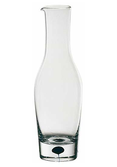 Orrefors Crystal, Intermezzo Blue Crystal Decanter