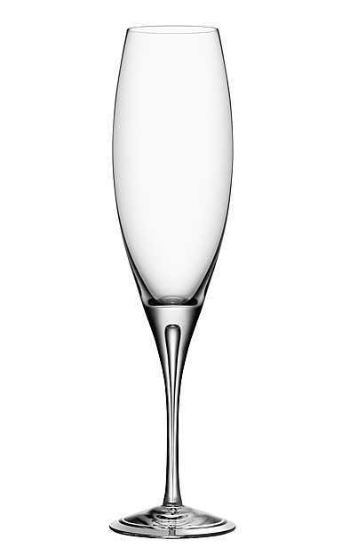 Orrefors Crystal, Intermezzo Air Champagne Crystal Flute, Single
