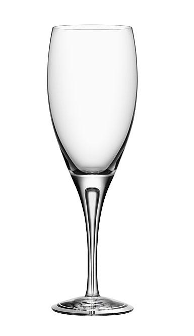 Orrefors Crystal, Intermezzo Air Crystal White Wine Glass, Single