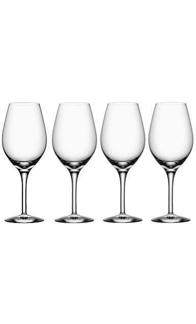 Orrefors More Wine Glass, Set of Four